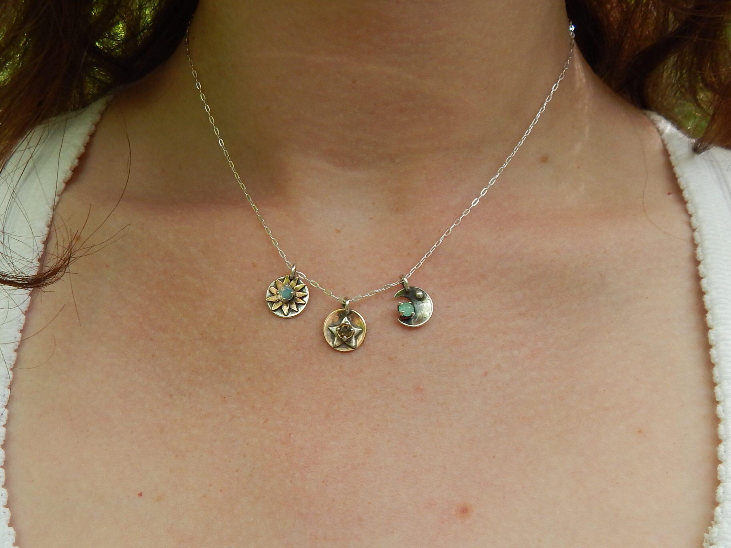 celestial pendants