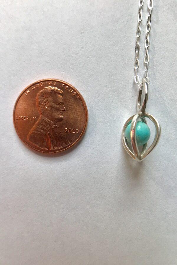 Gem Pod Turquoise Sterling Silver