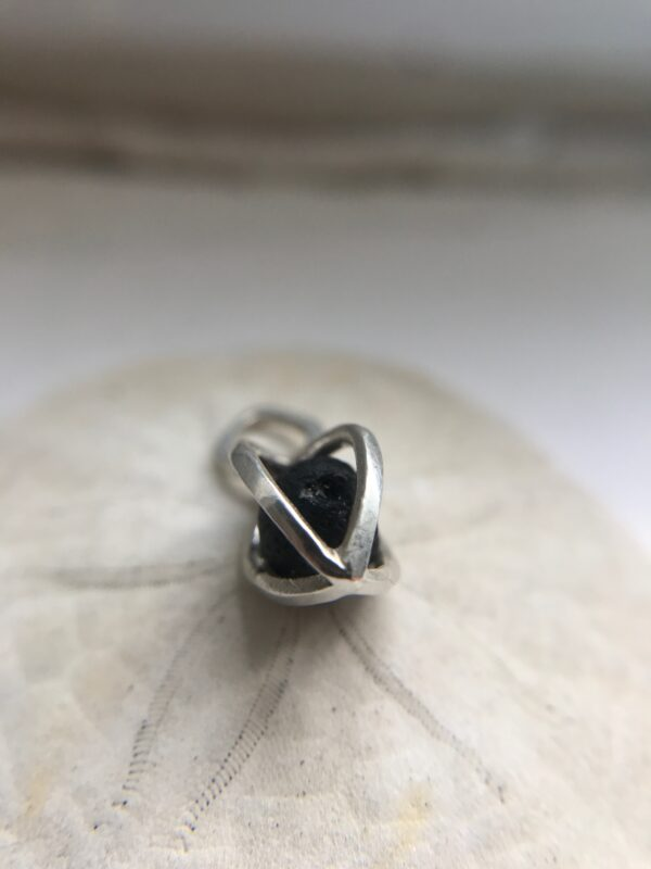 Gem Pod Essential Oil Lava Sterling Silver