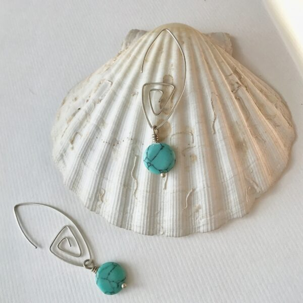 Interchangeable Gemstone Earrings